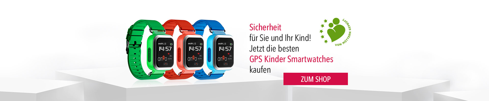 Kinder Smartwatch - Anio 3 Touch