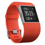 fitbit surge orange