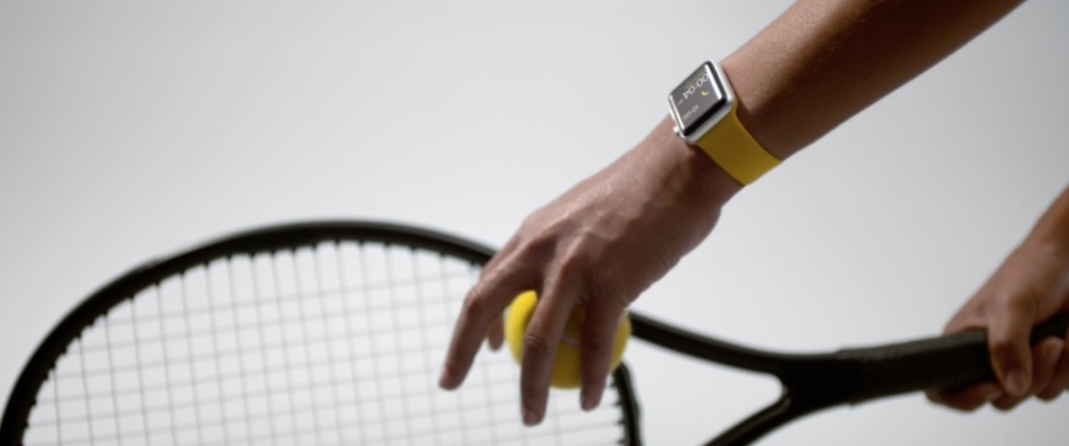 Apple Watch Series 2 Tennis Keynote