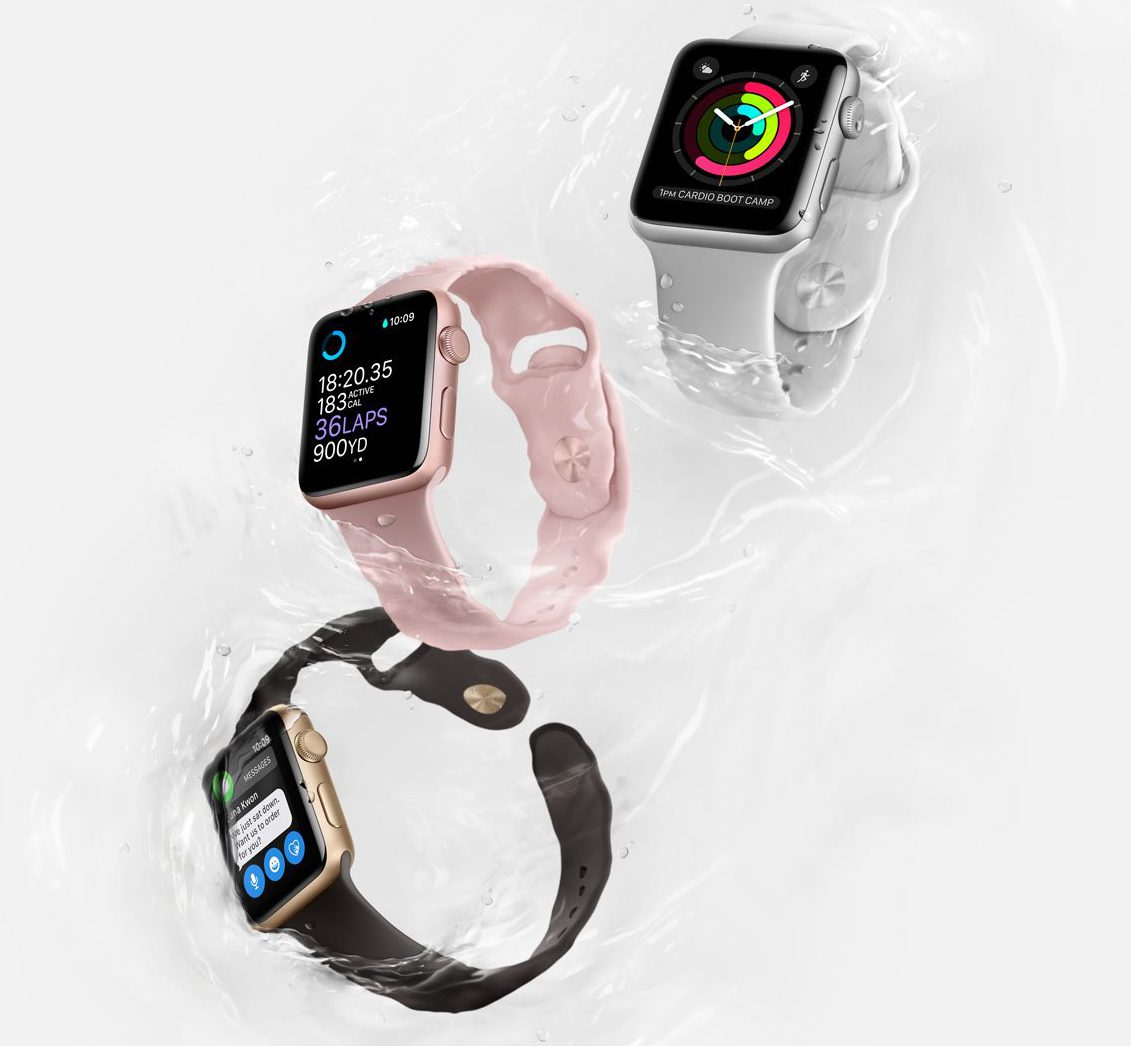 Apple Watch Series 2 Wasserdicht