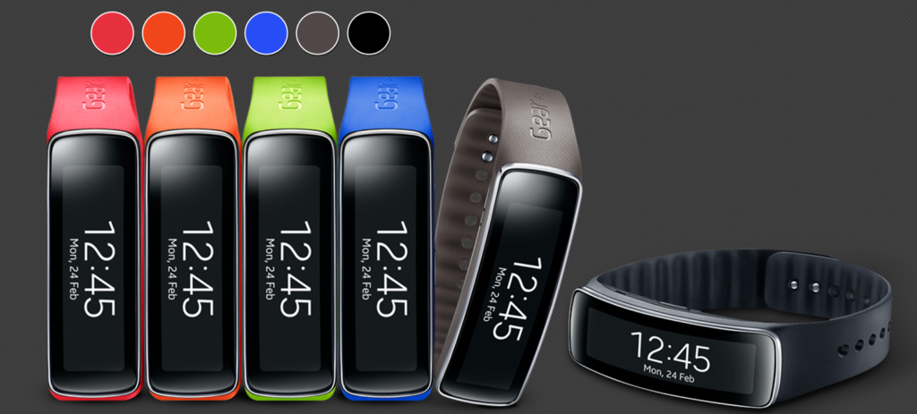 Samsung Gear Fit Varianten