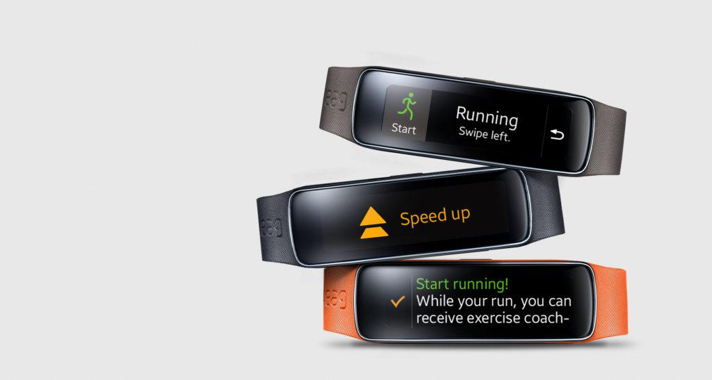Samsung Gear Fit Display