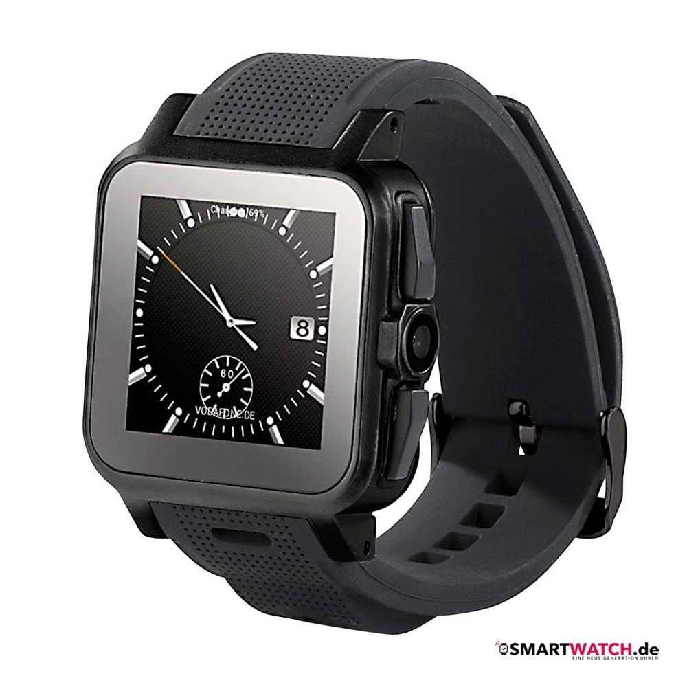 "simvalley MOBILE 1.5""-Smartwatch AW-414.Go"