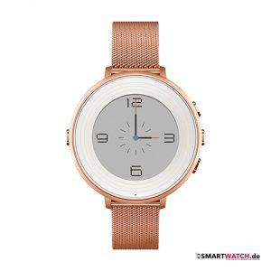 Pebble Time Round - 14mm Mesh - Rosegold