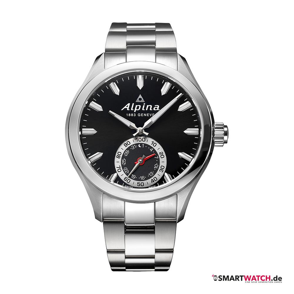 Alpina Horological Gents - Silber/Schwarz