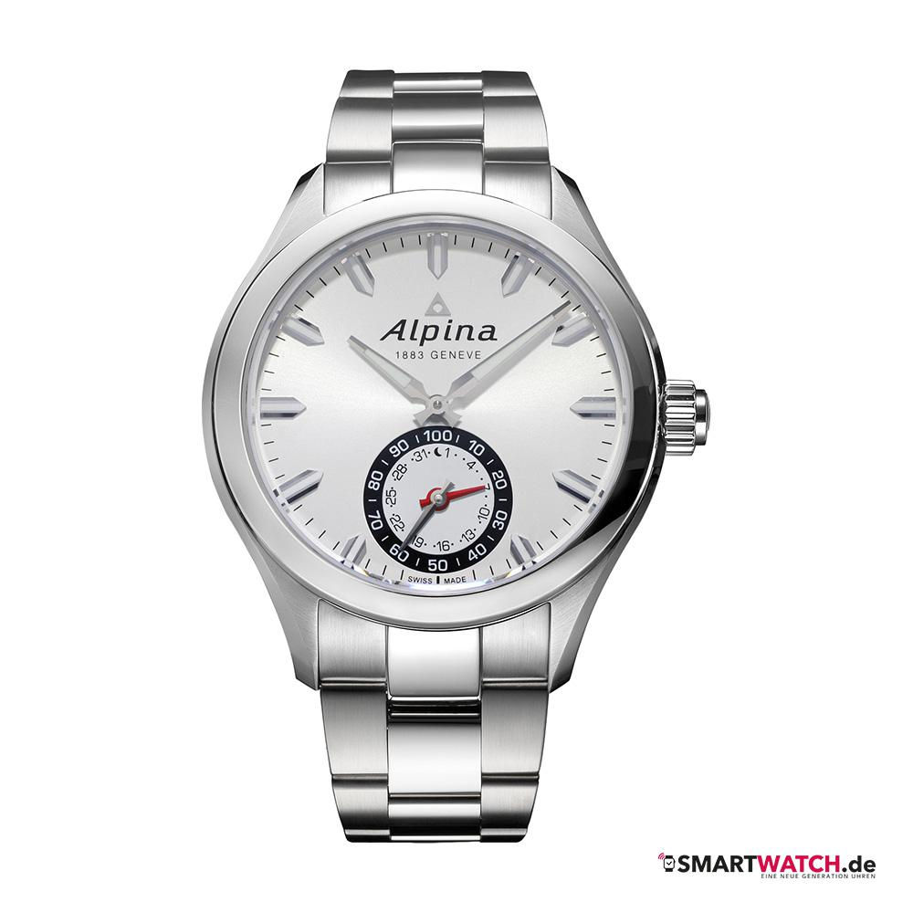 Alpina Horological Gents - Silber/Weiß
