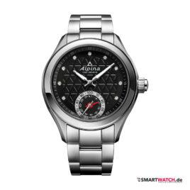 Alpina Horological Ladies - Silber/Schwarz