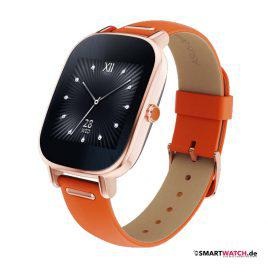 ASUS ZenWatch 2 - 37mm Leder - Rosegold/Orange