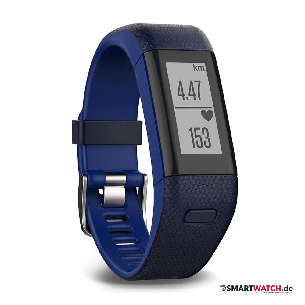 Garmin Vivosmart HR Plus - Blau
