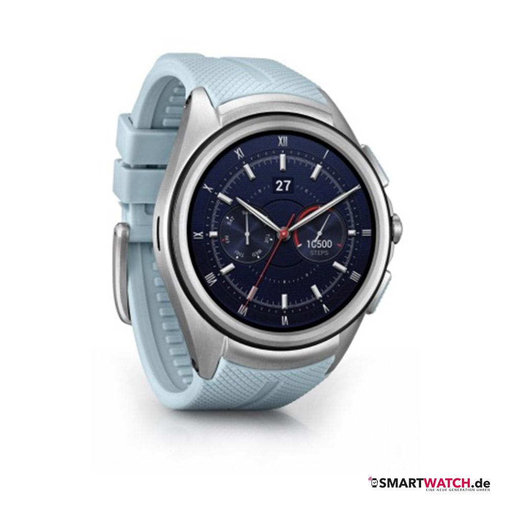 LG Watch Urbane 2nd - Hellblau/Silber
