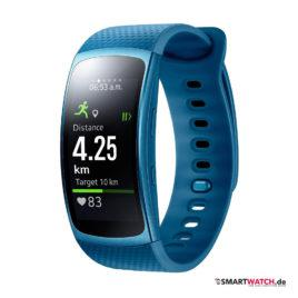 Samsung Gear Fit 2 - Blau