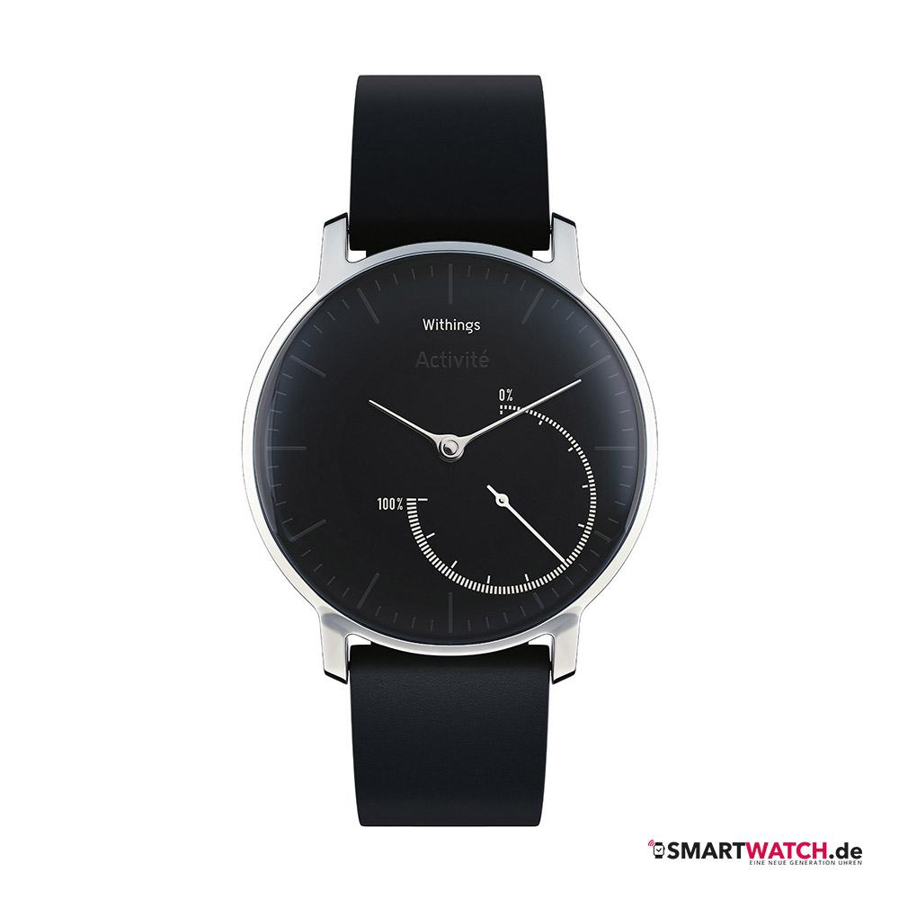 Withings Activite - Steel/Schwarz