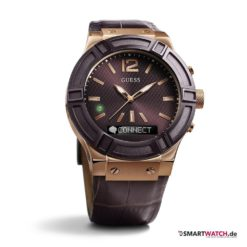 GUESS Connect - Braun/Rosegold - 45mm