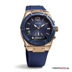GUESS Connect - Blau/Rosegold - 41mm