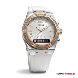 GUESS Connect - Weiß/Rosegold - 41mm