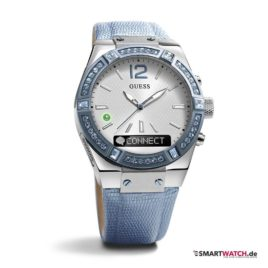 GUESS Connect - Himmblau/Silber - 41mm