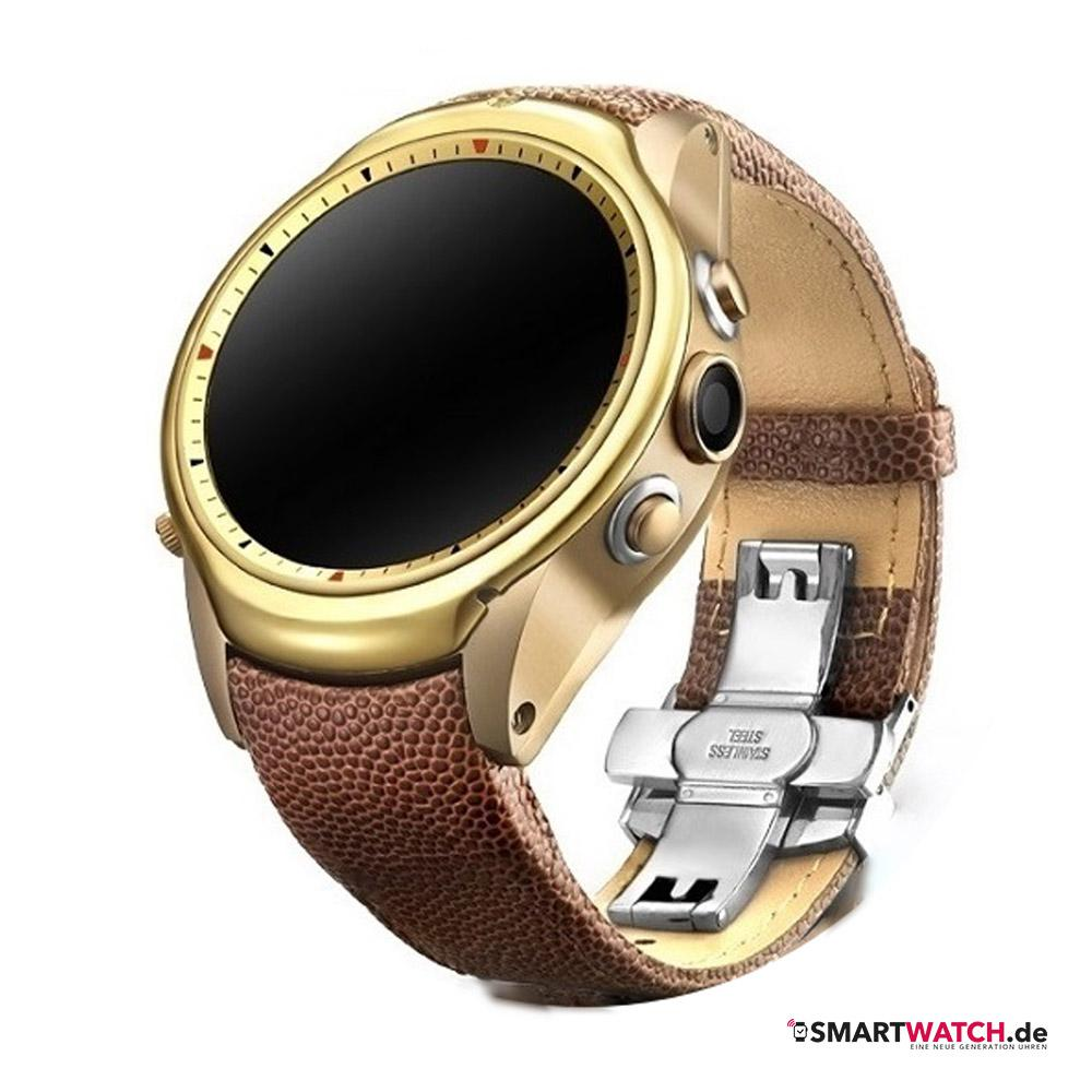 Awatch Comet - Braun/Gold