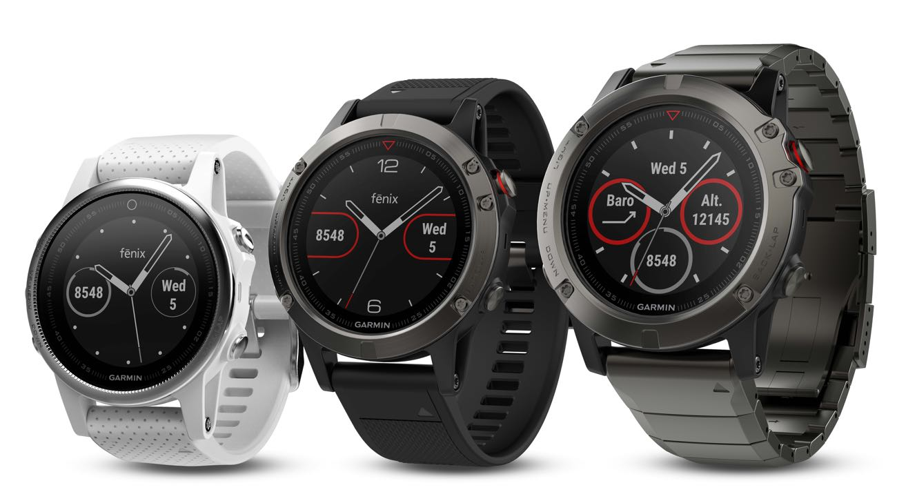 Garmin fenix 5 HR Kollektion