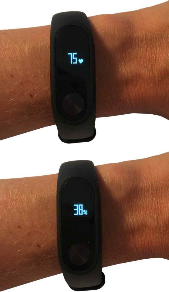 Xiaomi Mi Band 2 am Arm