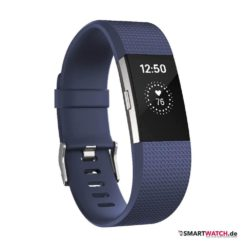 Fitbit Charge 2 - Blau/Silber