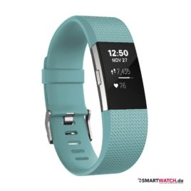 Fitbit Charge 2 - Türkis/Silber