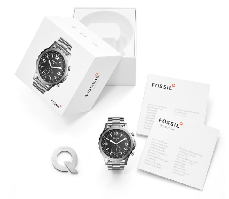 Fossil Q Nate Lieferumfang