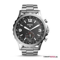 Fossil Q Nate - Silber