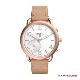 Fossil Q Tailor - Beige/Rosegold