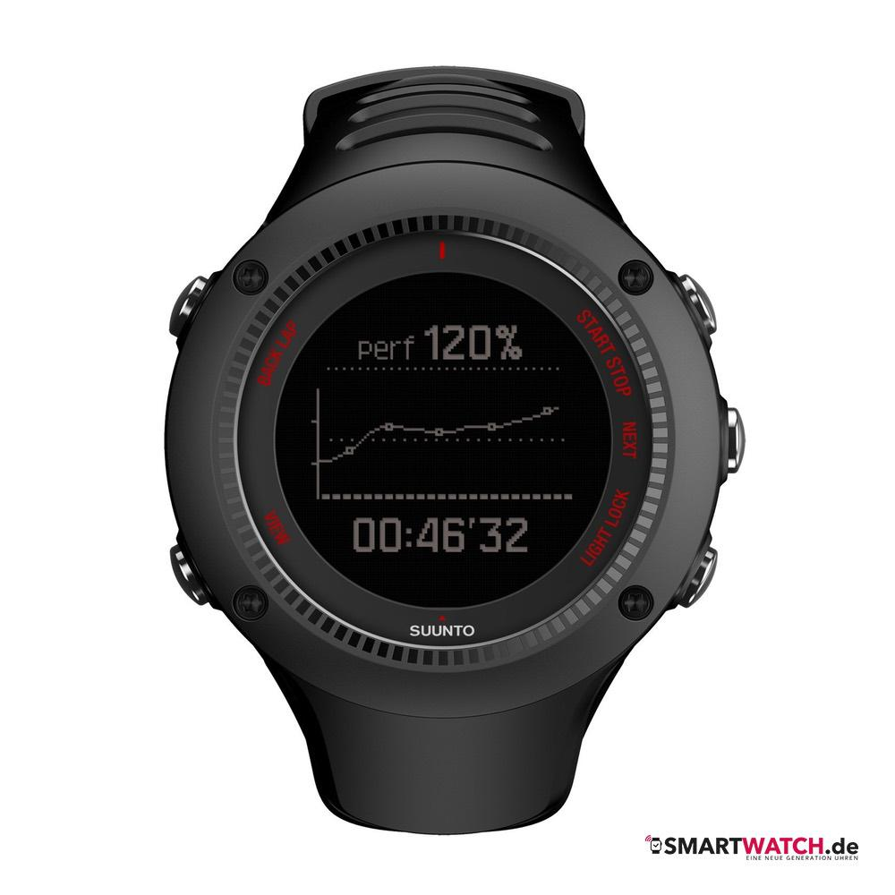 Suunto Ambit3 Run HR - Schwarz