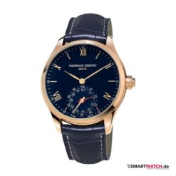 Frederique Constant Horological Smartwatch - Blau/Rosegold