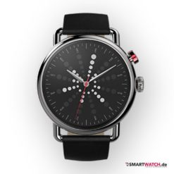WhatWatch Stop the Time Watch Classic - Schwarz/Silber