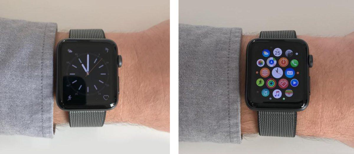Apple Watch Series 2 am Arm