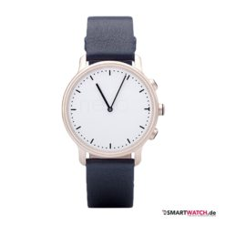 Nevo Watch New York - Blau/Silber (Champagner)