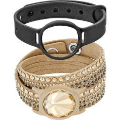 Swarovski Activity Tracker Slake - Beige/Gold