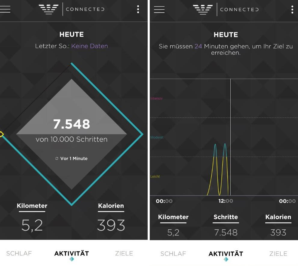 Emporio Armani Connected App Fitness