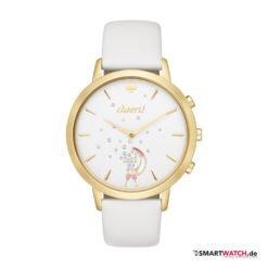 Kate Spade New York Hybrid Smartwatch Metro, Leder - Weiß/Gold