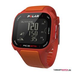 Polar RC3 GPS - Rot/Orange