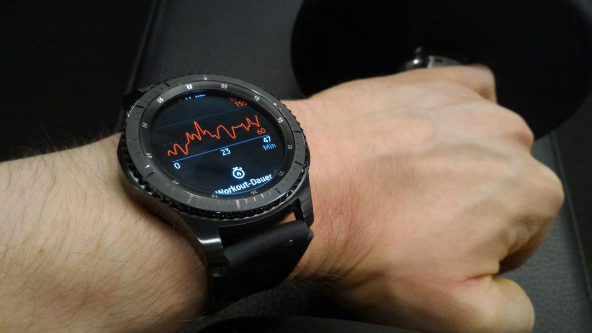 Samsung Gear S3 Frontier Workout