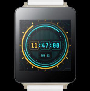 Chron Watchface