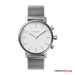 Kronaby Hybrid Smartwatch Nord, Milanaise - Silber