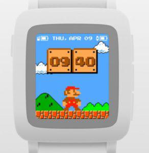 Mario Time Watchface