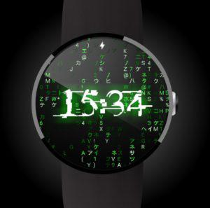Matrix Face for Android Wear