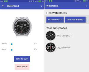 Samsung Screenshot Watchland