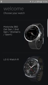 Screenshot Android Wear erstellen