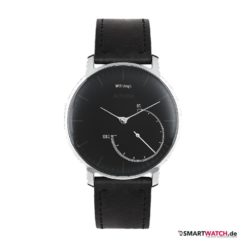 Withings Activite Steel Special Edition - Leder Schwarz/Silber