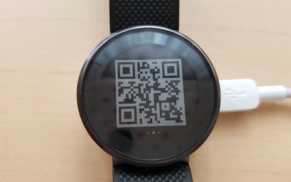 QR Code Huawei Fit Fitness Uhr