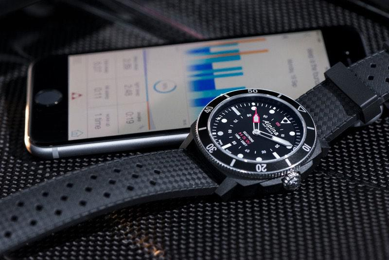 Hybrid Smartwatch Alpina Seastrong