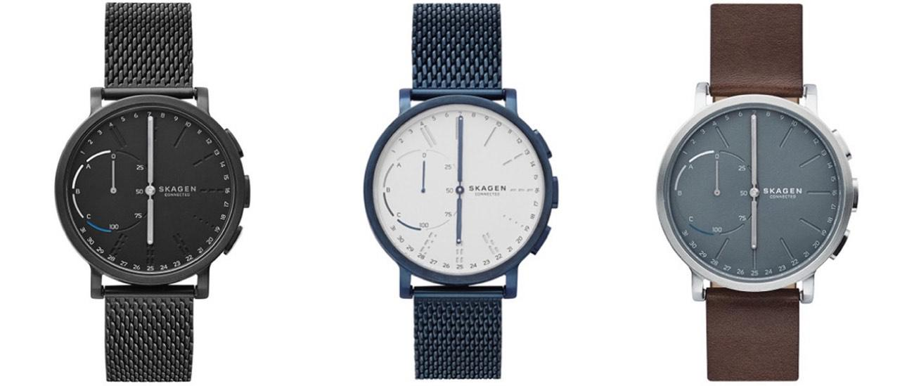 Hybrid Smartwatch Skagen Connected Hagen