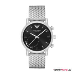 Emporio Armani Connected, Mesh - Silber