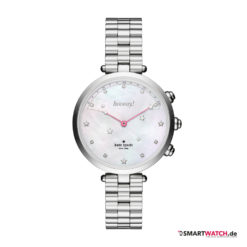 Kate Spade New York Hybrid Smartwatch Holland, Gliederarmband - Silber